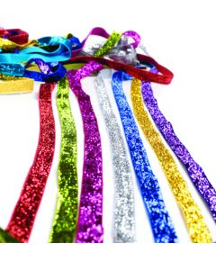 Glittery Velvet Ribbon Assortment