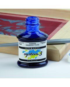 Daler-Rowney System 3 Screen Drawing Fluid. Each