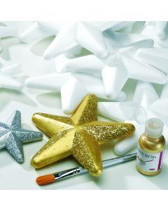 Polystyrene Stars. 200mm dia - Pack of 10