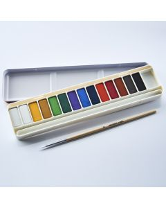 Specialist Crafts Watercolour Tablet Set of 14 Including Brush