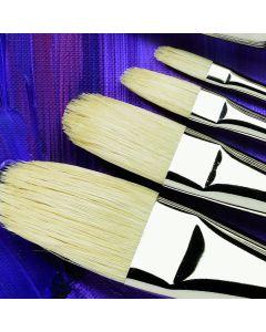 Specialist Crafts Premium Short Handled Hog Filbert Brushes