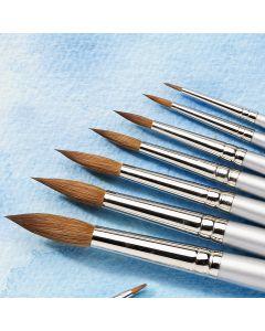 Specialist Crafts Premium Short Handled Sable Round Brushes