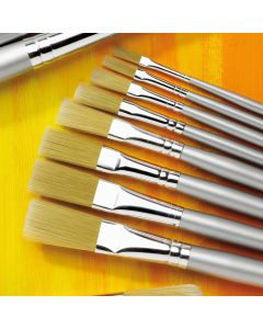 Specialist Crafts Premium Long Handled Tynex Flat Brushes