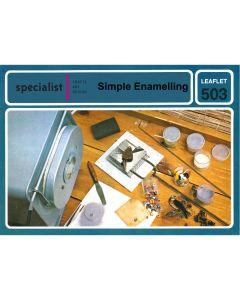 Simple Enamelling Craft booklet