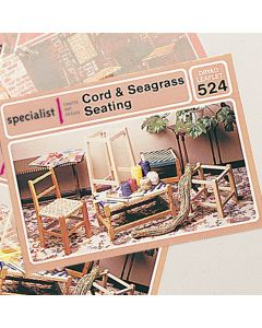 Cord and Seagrass Seating Craft Booklet