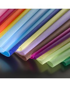 Non-Bleed Coloured Tissue Paper. Pack of 20