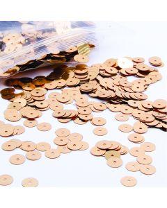 Bulk Sequins 6mm x 100g - Gold