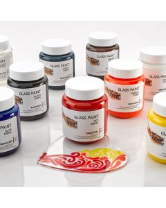 Specialist Crafts Glass Paints Assortment