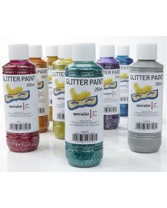 Specialist Crafts Glitter Paints 250ml