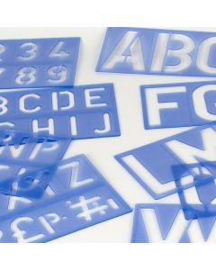 Letter & Number Stencils