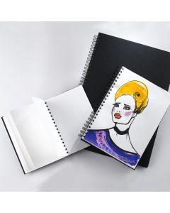 Portrait Spiral Bound Sketch Pads