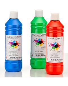 Specialist Crafts Premium Readymixed Paint - 500ml Bottles