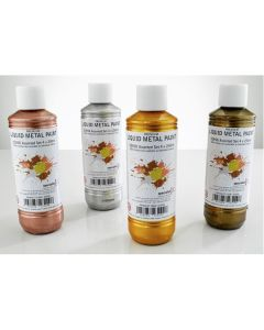 Premium Liquid Metal Paint 250ml Set.