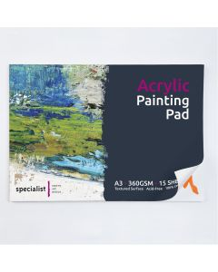 Specialist Crafts Acrylic Painting Pad A3