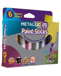 Little Brian Paint Sticks - Classic Metallics