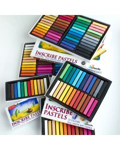 Inscribe Soft Pastels Half Sticks Sets