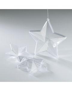 Clear Plastic Stars