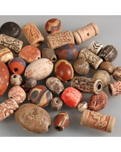 Ancient Effect Ceramic Beads