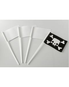 Party Flags 140 x 105mm. Pack of 20