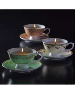 Teacup & Saucer Candle Making Set