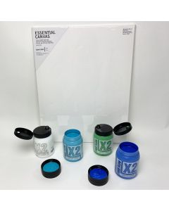 Acrylic Pouring Kit - Blue & Green