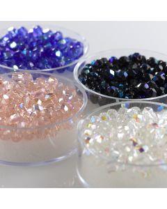 Glass Bicone Beads Packs