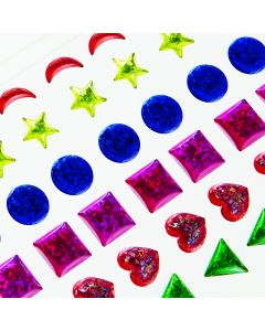 Large Jewel Stickers. Large. Pack of 78