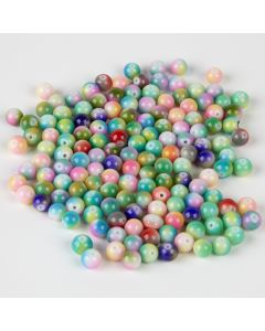 Blush Glass Beads