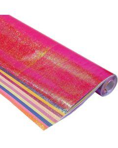 Iridescent Paper Rolls