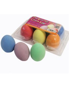Chalk Eggs. Pack of 6