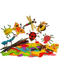 Minibeasts Paper Shapes