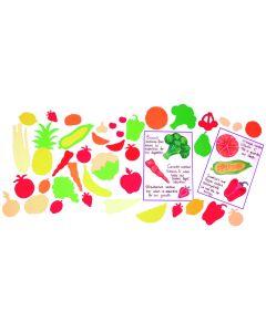 Fruit & Veg Paper Shapes