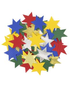 Corrugated Paper Stars. Pack of 50