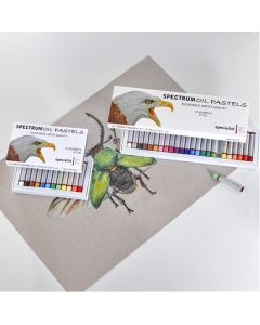 Spectrum Oil Pastels Individual Colour Packs