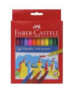 Faber-Castell Felt Tip Pens. Set of 24