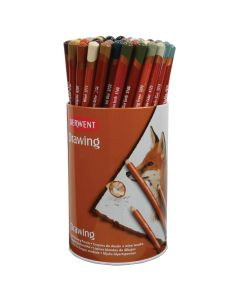 Derwent Drawing Pencils Class Pack. Pack of 72