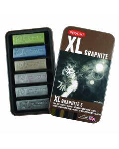 Derwent XL Graphite Block Set of 6