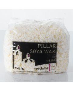 Soya Wax Shavings 2kg Bag