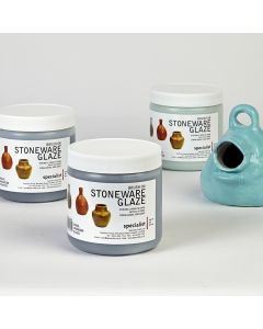 Lead-Free Brush On Stoneware Glazes