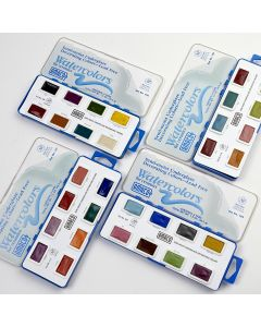 Ceramic Underglaze Watercolour Sets