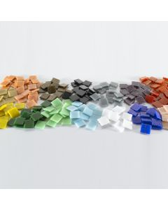 20mm Glass Mosaics Assortment