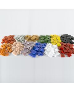20mm Glass Mosaics Assorted Class Pack