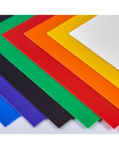 Coloured High Impact Polystyrene Sheets