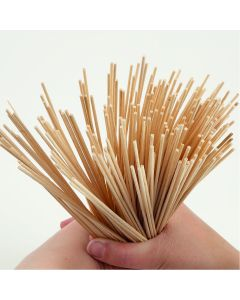 Natural Round Sticks. Pack of 200