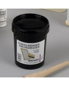 Screen Abrader and Degreaser