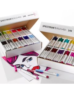 Spectrum Broad Selections. Standard & Rainbow Double Box. Pack of 288