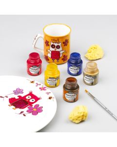 Pebeo Porcelaine 150 Metallic Paints