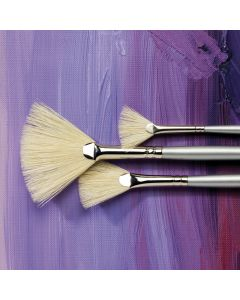Specialist Crafts Student Fan Hog Brushes