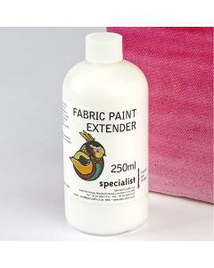 Specialist Crafts Fabric Paint Extender - 250ml