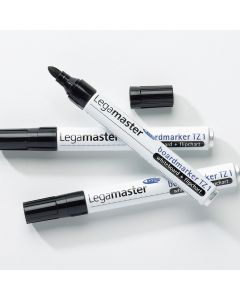TZ Legamaster Whiteboard Markers. Black. Pack of 10